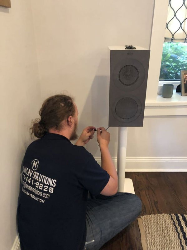 home audio and video installations